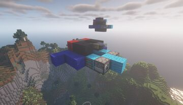 Royal Navy Buzzard ASF  ( Fighter | Royal Navy | Movecraft Compatible | Airskiff ) Minecraft Map & Project