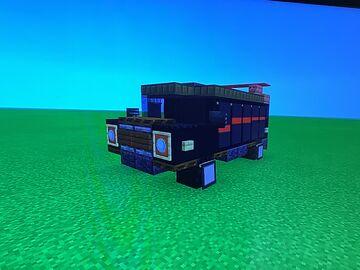 A-Team Van Minecraft Map & Project