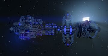 Space Station Minecraft Map & Project