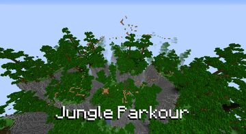 Jungle Parkour Minecraft Map & Project