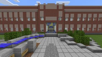 Napoleon Dynamite's High School Minecraft Map & Project