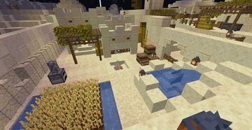 Desert Town Minecraft Map & Project