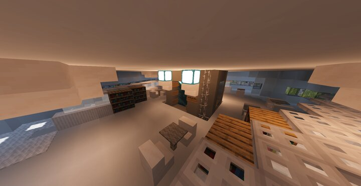 The third floor. Interior is a bit iffy because of the lack of online resources for it.