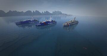 Cape-class patrol boat Minecraft Map & Project