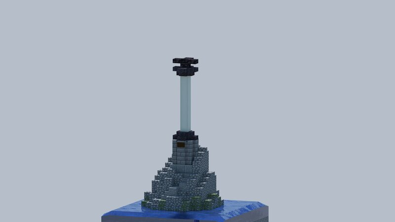 Render of Monument to the Sunken Ships