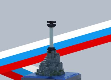 Monument to the Sunken Ships Minecraft Map & Project