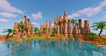Cool Masa Terrain Minecraft Map & Project