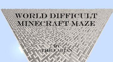 World Difficult Maze [1.15.2] Minecraft Map & Project