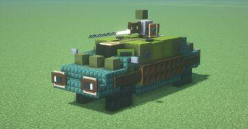 OTO Melara R3 T20 FA-HS Capraia (2:1 scale) Minecraft Map & Project
