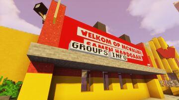MCWalibi - Walibi Holland remake | Samen hardgaan Minecraft Map & Project