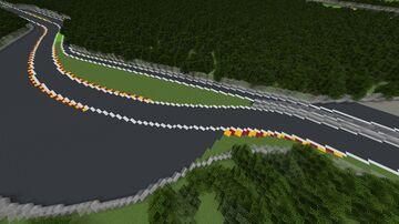 🇧🇪 Circuit de Spa-Francorchamps, Belgium (1.12) Minecraft Map & Project