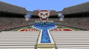 WWE WRESTLEMANIA STAGE CONCEPT OHIO STADIUM PYRO Minecraft Map & Project
