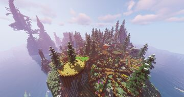 Multiplayer Survival base CZE DUB/ENG SUB Minecraft Map & Project