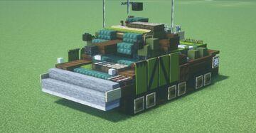 Centurion Mk. 5 AVRE (1.5:1 Scale) Minecraft Map & Project
