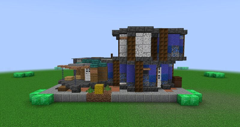 Shack front view