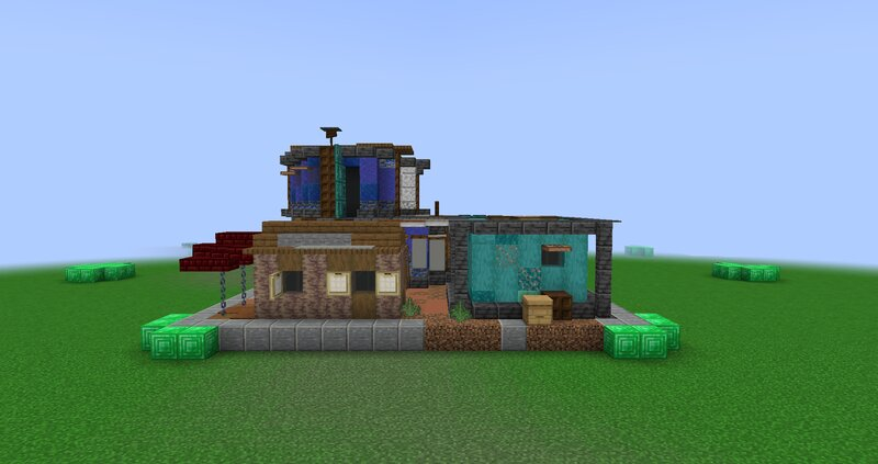 Shack back view