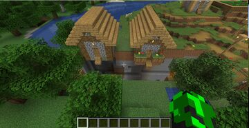 SUPER SECURE HOUSE Minecraft Map & Project