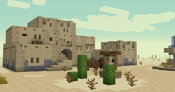 Arab Village Minecraft Map & Project