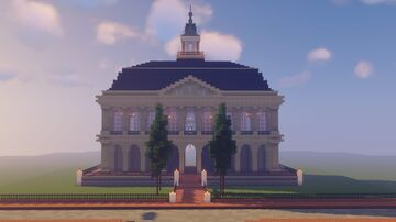 American-French Building Minecraft Map & Project