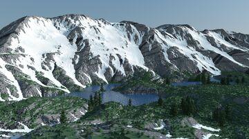 Beartooth Valley (4k x 4k) Minecraft Map & Project