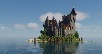 Greenby Castle Minecraft Map & Project