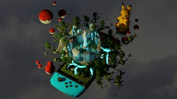 Pokemon Themed Hub   Aderlyon Build Team Minecraft Map & Project