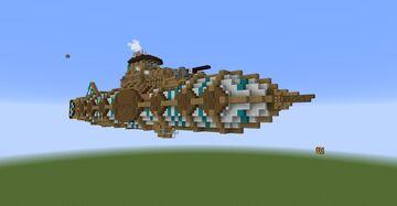 Siren Air-Ship Minecraft Map & Project