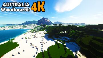Minecraft Australia Map Minecraft Map & Project
