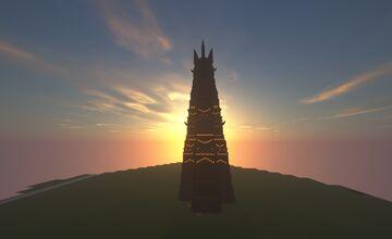 Orthanc of Isengard Minecraft Map & Project