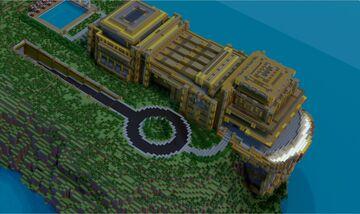 The Malibu Retreat || A Marvel Comics Build Minecraft Map & Project