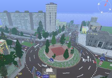 | ROMANIA COUNTRY MAP VERSION 2.2 | MINECRAFT VERSION 1.12.2 | SNEAK PEEK | Minecraft Map & Project