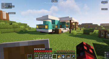camper-van Minecraft Map & Project