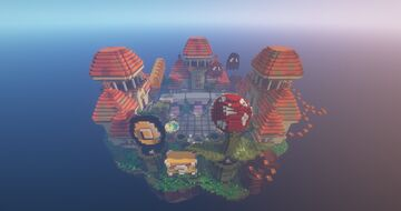 FREE ❯ Main Hub ❯ 1.12.2 lobby Minecraft Map & Project