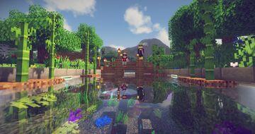Mini-Map «poisson» par Bastoon {Pré_2} Minecraft Map & Project