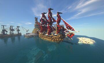 Queen Anne's Revenge Concept (Download) Minecraft Map & Project