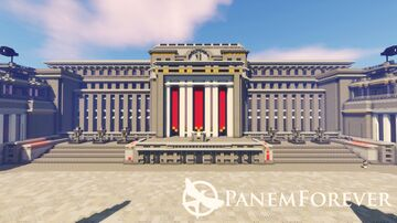 Panem Forever | World of the Hunger Games | District 1 | Java Server Minecraft Map & Project