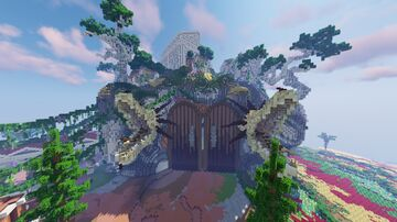 Mythical Greek Lobby Minecraft Map & Project