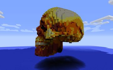 big hollow scull base - schematic download Minecraft Map & Project
