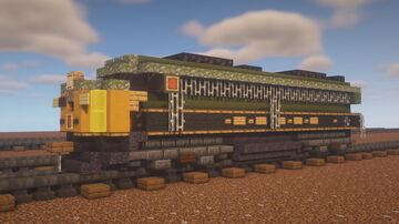 """Canadian National - EMD E9ar """"Heritage"""" 102/103 Minecraft Map & Project"""