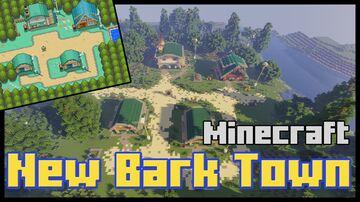 New Bark Town - Pokemon Johto Region Minecraft Map & Project