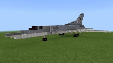 1:1 scale Tu-22M3/M3M Backfire-C Minecraft Map & Project