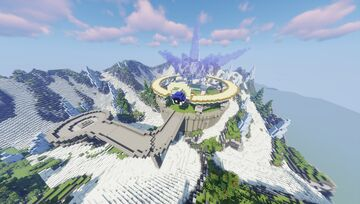 Ice Cold Pokémon Elite Four (Commission By MagmaBuilds) Minecraft Map & Project