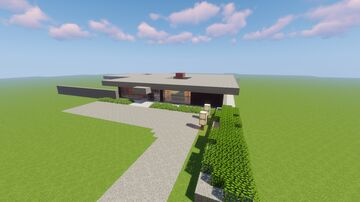 Kanzlerbungalow (Haus des Bundeskanzlers) (House of the german chancellors from 1964 - 1999) (1.16.5) Minecraft Map & Project