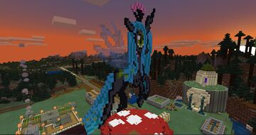Ahriman's Builds from my Minecraft Realm Minecraft Map & Project