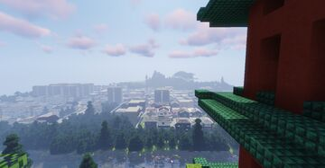 Yandere Simulator + Cool Japanese town [DOWNLOAD] 1.16+ (made for Roleplay) Minecraft Map & Project