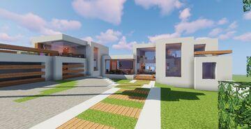 Modern House #P3 (Map + Schematics) Minecraft Map & Project