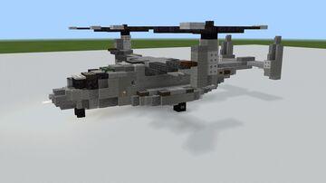 V-22 Osprey 1.5:1 (Redo) Minecraft Map & Project
