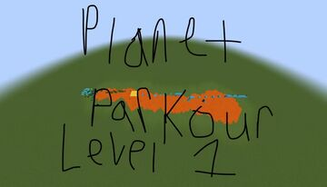 Planet Parkour Level 1: Earth For Bedrock Minecraft Map & Project