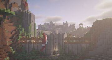 Medieval Survival Base Minecraft Map & Project