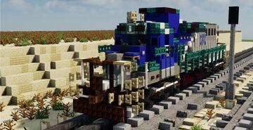 SRO Saudi Railway Organization EMD SDL38-2 Minecraft Map & Project